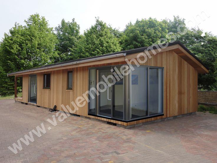 Mobile Home Park Static Caravan Log Cabins Portable