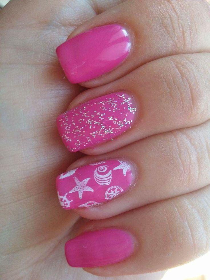 Summer nails letní nehty