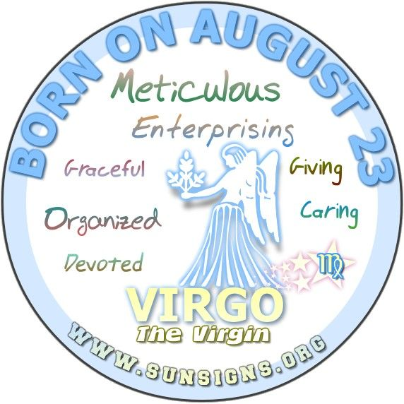August 23 Birthday Horoscope Personality