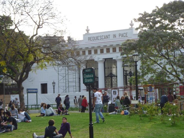 Cementerio de Recoleta. BsAs, Argentina.