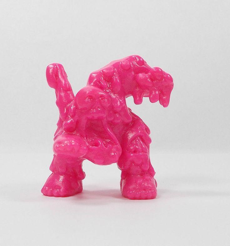 Monster In My Pocket - Series 2 - 61 Ectoplasmic Phantom - Neon Magenta - Figure