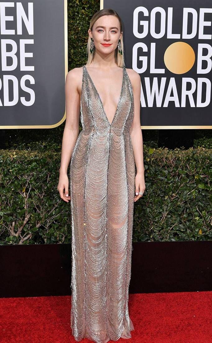 Saoirse Ronan from Golden Globes 2019: Best