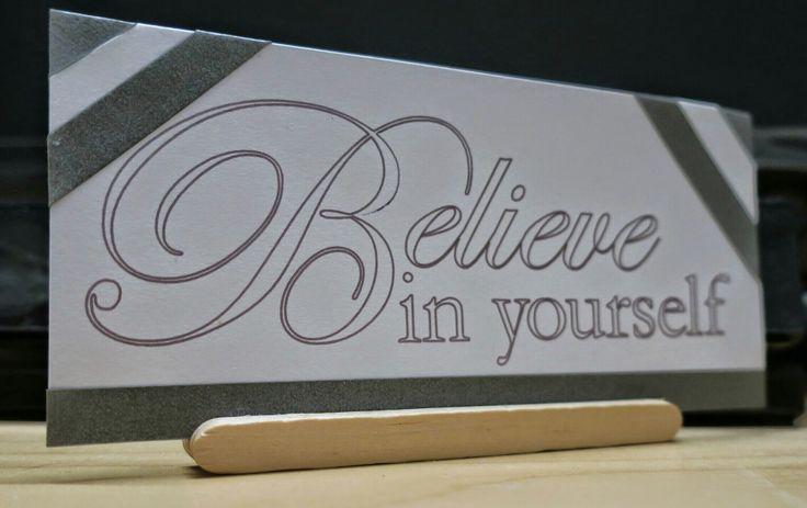 Believe in urself quote