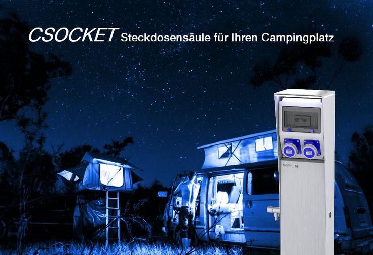 Camping Steckdosensäule CSocket