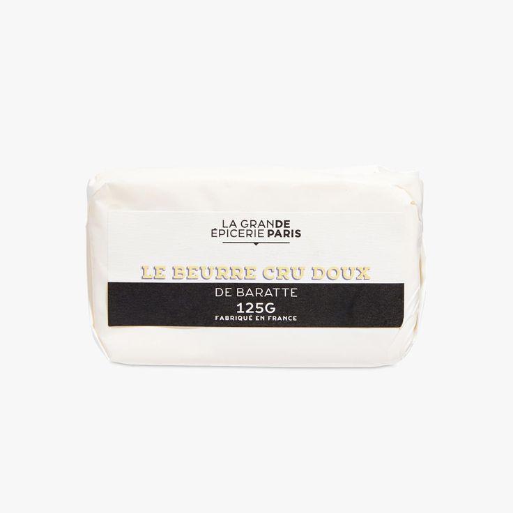 Beurre cru doux  - La Grande Epicerie de Paris - Find this product on Bon March� website - La Grande Epicerie de Paris