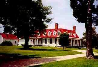 City Point - Appomatax Manor, Hopewell, Va.  Headquarters for the Union during the Siege of Petersburg.