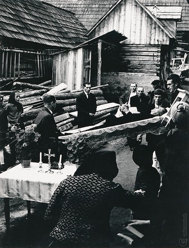 Martin Martinček: Liptov cyklus čiernobielych fotografií 15ks:1966 - 1970