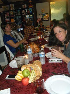 Thanksgiving in USA for 2 Australians - Exploramum & Explorason