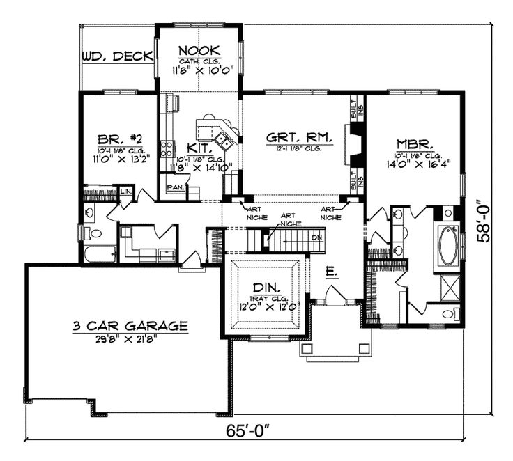 Best Floor Plans Images On Pinterest Dream House Plans - Mitchell homes floor plans