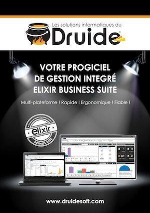 Druide Soft (www.druidesoft.com) est une société informatique basée à Tunis, éditeur de logiciels de gestion d'entreprise.  Pour plus d'informations vous pouvez consulter notre plaquette commerciale ou nous contacter au +216 99 80 20 15    #Druidesoft #Erp #Elixir #Business #Suite #Plaquettecommerciale #catalogue