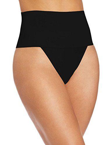 f9df0c5eb9c Undetectable Women Shapewear High Waist Underwear Slimming Control Briefs  Tummy Control Bum Lift Body Shaper (XXL Black)