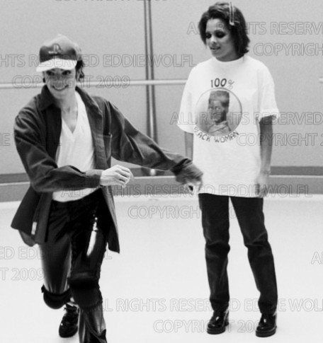 ♥ Michael Jackson ♥ - looks like he just did something naughty and was running for his life from Janet lol