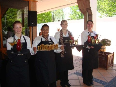 Lanzerac Wine Estates Caterers with Cocktails and Snacks