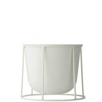 Menu Wire Pot ruukku, valkoinen | Yrtti- ja kukkaruukut | Piha & puutarha | Finnish Design Shop