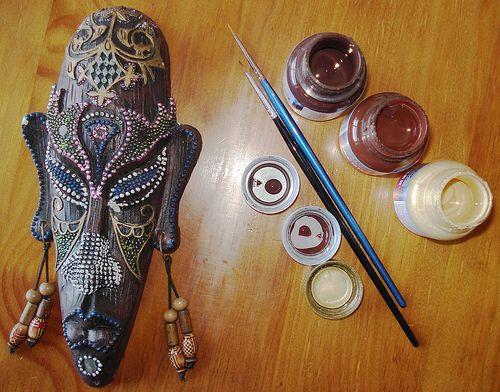 french guyana mask
