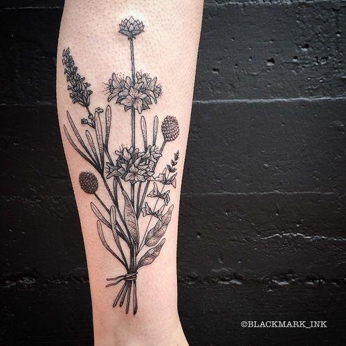 Gaspard, Black and Blue Tattoo SF
