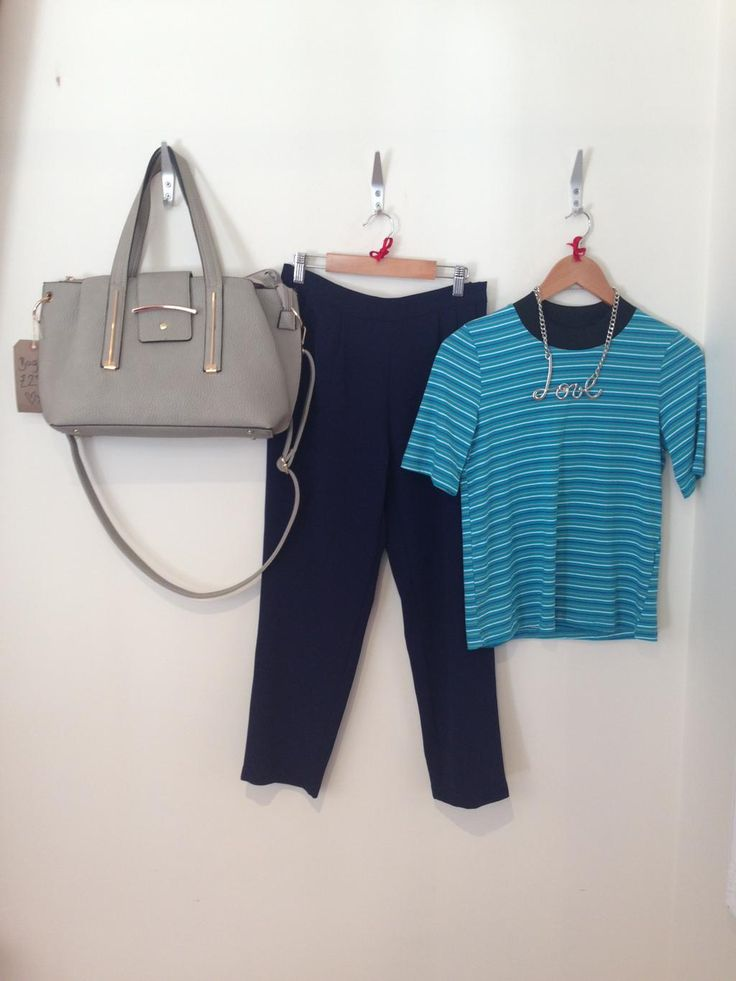 #Transition into the cooler months with M&M! Grab our navy blue trousers for £15!!! Shop at http://maryandmilly.co.uk !!