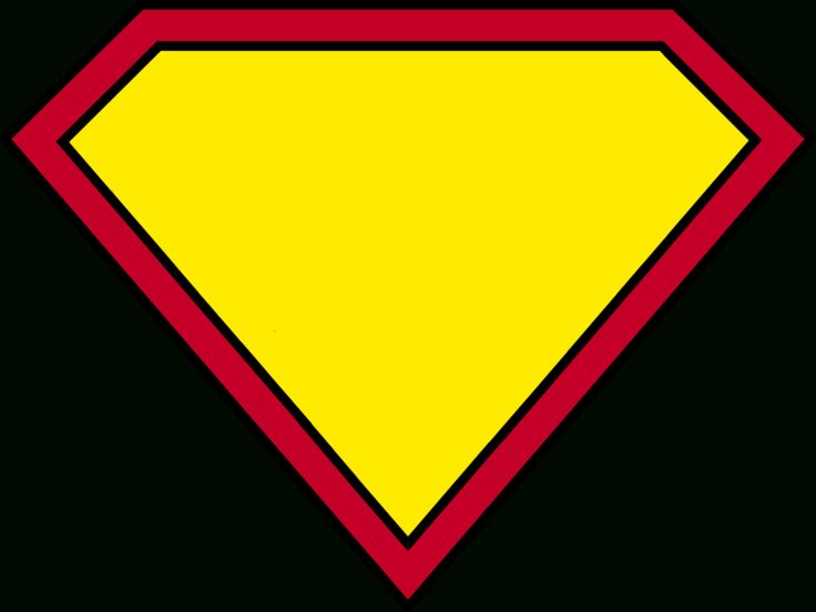 Blank Superman Logos Inside Blank Superman Logo Template ...