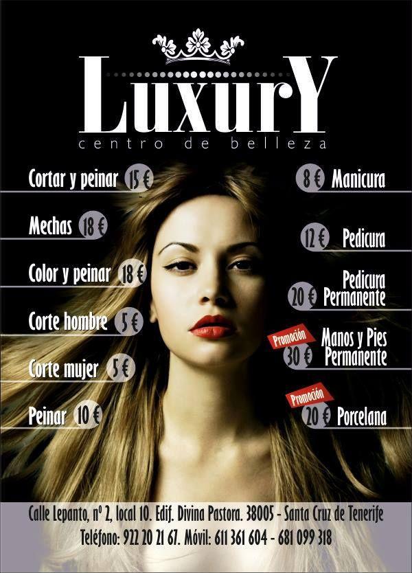 Flyer DinA6 de peluquería Luxury - Ideas frescas