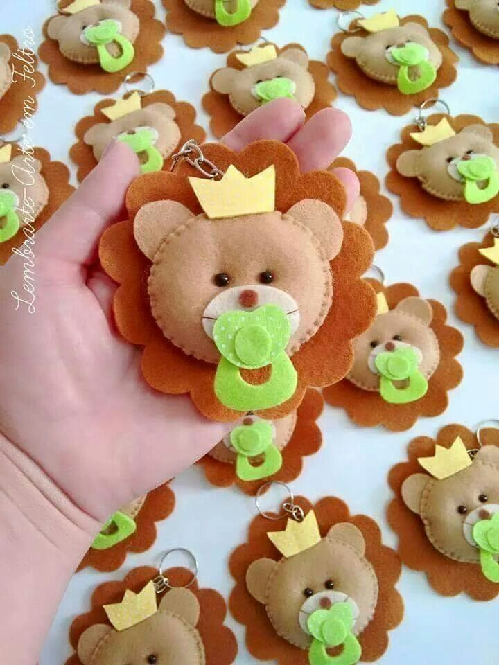 Lion baby ornament