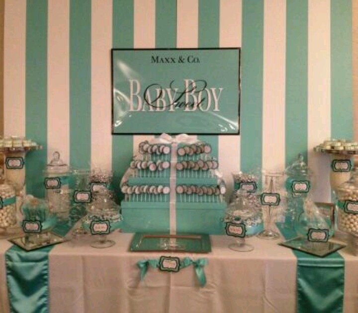 Mejores 11 imágenes de Tiffany Inspired Baby Shower en Pinterest ...