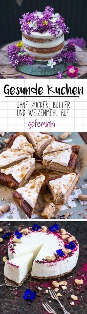 Schlemmen ohne Reue: 3 Kuchen-Rezepte ohne Zucker, Butter und Weizenmehl