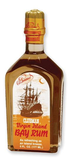Clubman Virgin Island Bay Rum, 6 oz. - After Shave & Cologne