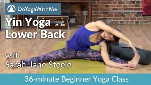 yin yoga for the lower back with sarahjane steele