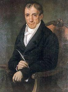 Αδαμάντιος Κοραής (1748-1833) , Έλληνας φιλόλογος , υποστηρικτής της καθαρεύουσας.