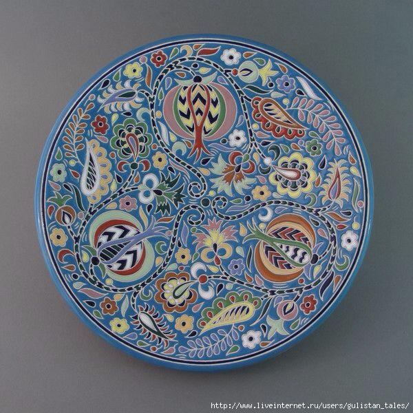 Рустем Скибин, керамика, Крымский стиль