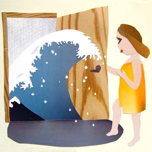 Illustration by Kati Rapia for Avotakka Magazine, 2008