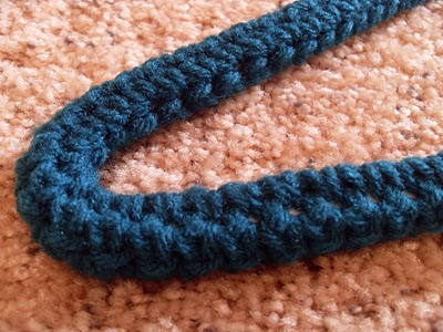 Something Beautiful: No-Slip Hangers - Crochet