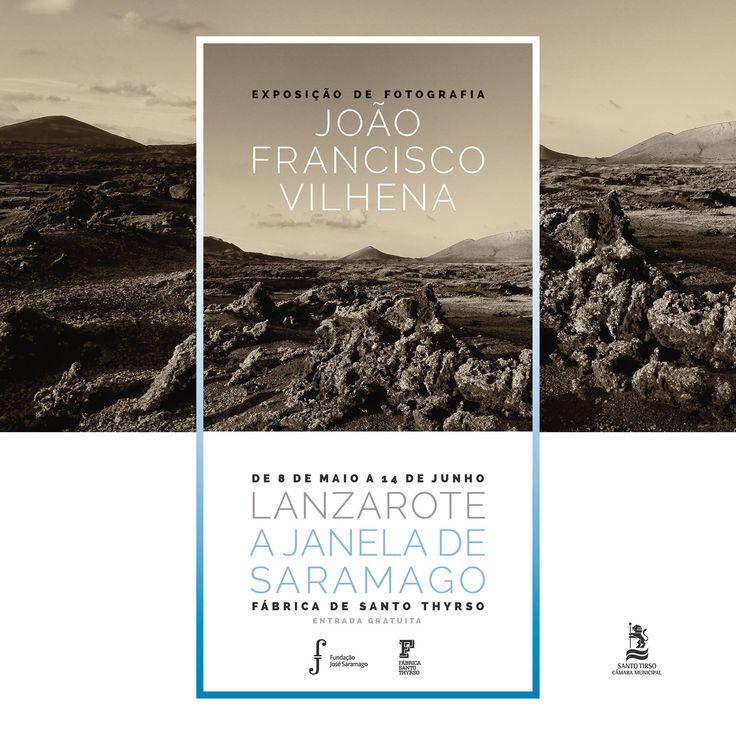 Exposição Lanzarote a Janela de Saramago, do fotógrafo João Francisco Vilhena
