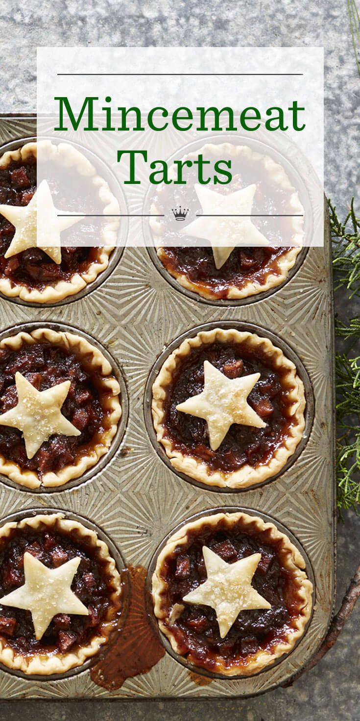 Everyone will fancy a taste of these Mincmeat Tarts. This Mincemeat Tart recipe is a time-saving variation on mince pies, a British holiday staple.