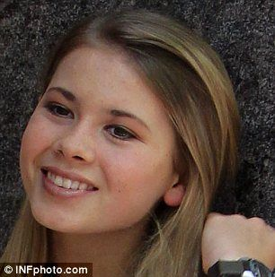 14-year-old Bindi Irwin is used to being the the spotlight and was on camera from a young age