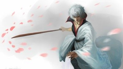 Cool Gintama Sakata, Gintoki With katana