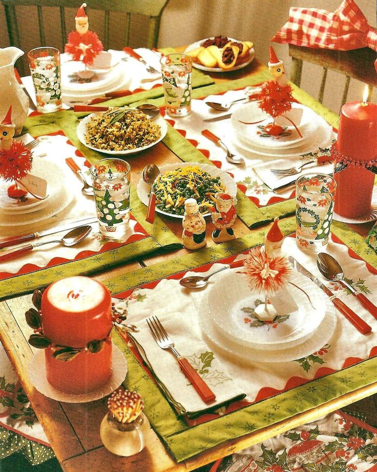 Decorated Tables 171 best christmas table settings images on pinterest | christmas