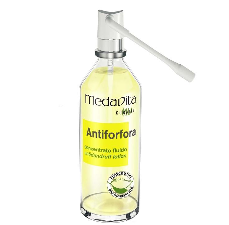 Medavita  Lotion Anticaspa Ampolletas 12x 6ml   Fluido concentrado de acción antimicrobiana, citostática y queratolítica las múltiples propiedades de anticaspa resuelven todas las causas que provocan la caspa
