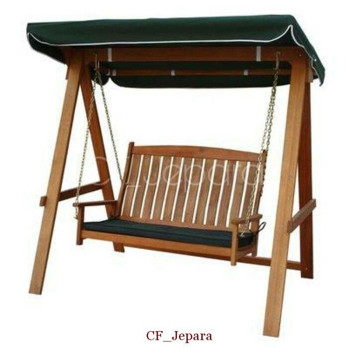 Kursi Ayunan Teras Armia, ayunan jati minimalis, kursi ayunan gantung, ayunan kayu jati murah, kursi ayunan taman, furniture jepara yang anggun.