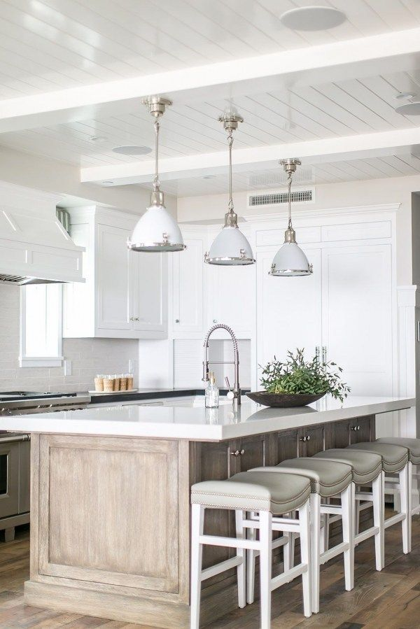 83 Grey Kitchen Wood Island Tips To Designing It Look Luxurious 2399 Kitchendesign Kitchen White Kitchen Design White Kitchen Island White Kitchen Decor
