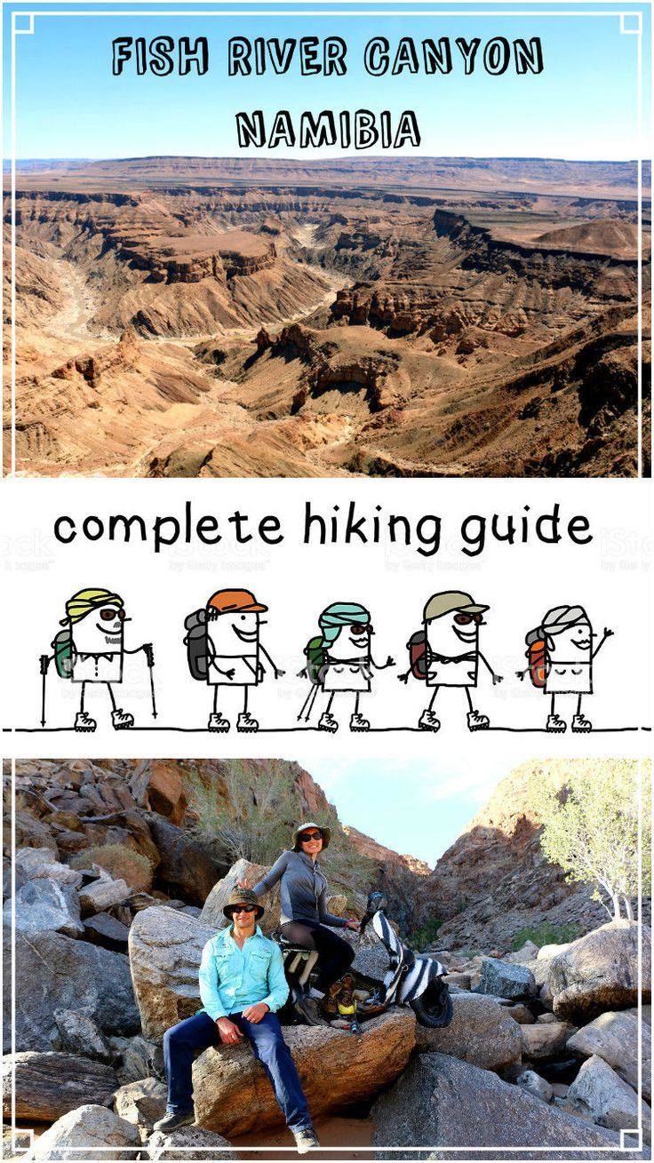 Ultimate guide to hike Fish River canyon, Namibia, the toughest hike in Africa