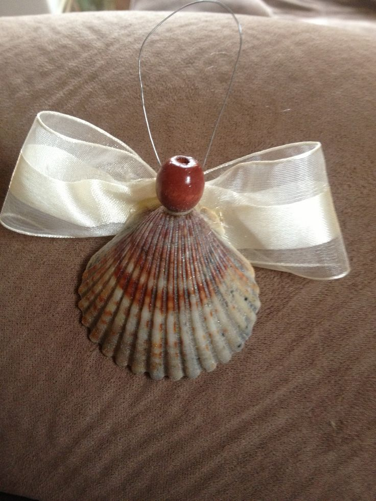 Shell ornament Seashell ProjectsShell 21