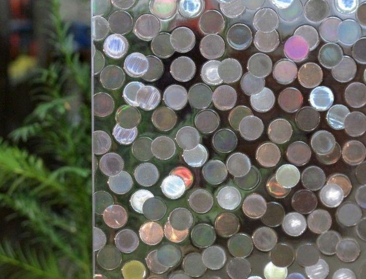 Free Shipping Glass Window Film Decorative Home Decor 3D Laser Static -06