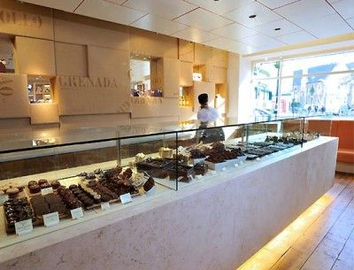 PASTRIES INTERIOR DESIGN | British chocolate shop bakery design | Architecture, Interior Designs ...