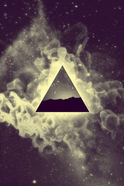triangle with smoke - Google Search