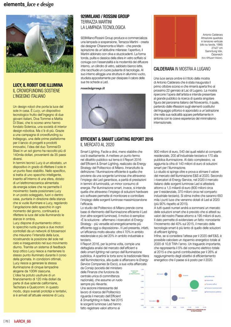 Terrazza Martini lamp by 929MILANO on IoArch magazine.