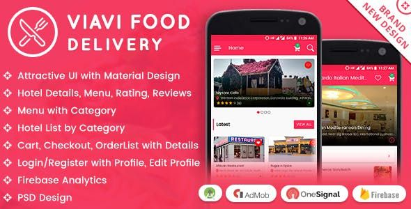 Viavi Food Delivery Android App | Source Code for Mobile