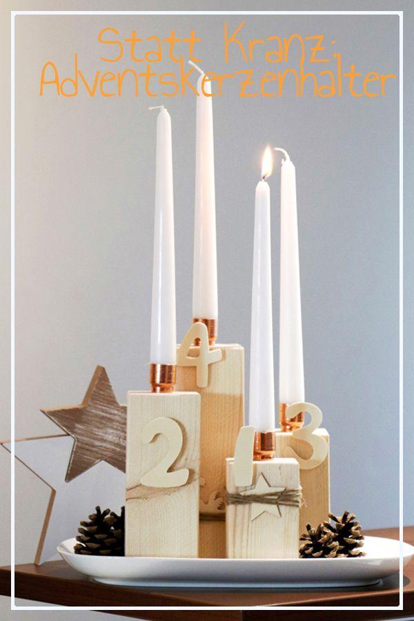 Adventskerzenhalter Adventskerzenhalter Advent Kerzen Und