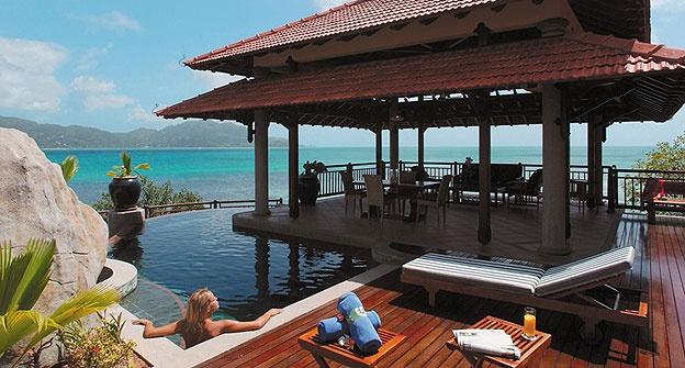 Hôtel Sainte Anne Resort Spa aux Seychelles