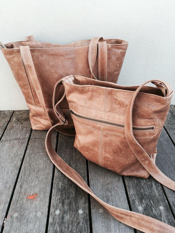 Hazelnut Combo Genuine Leather Bags by Wild & Free